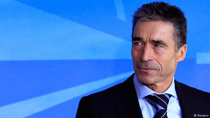 NATO Secretary-General Anders Fogh Rasmussen Photo: REUTERS/Yves Herman