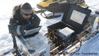 Feldarbeit in der Antarktis Foto: International Polar Foundation
