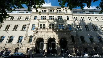 Здание участкового суда Лейпцига