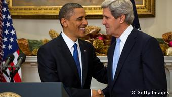 US President Barack Obama , John Kerry (PHOTO/Mandel NGAN