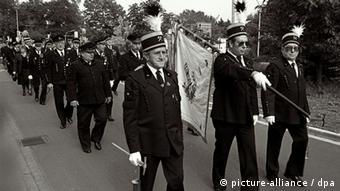 Демонстрация шахтеров 1987 год