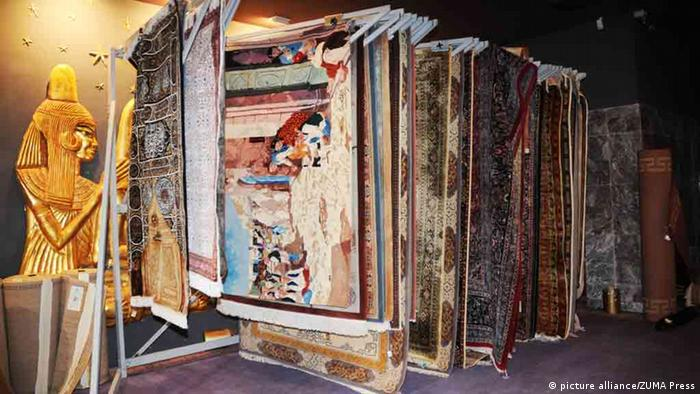 Dec. 22, 2012 - Tunis, Tunis, Tunisia - Carpets luxury was owned by deposed president.