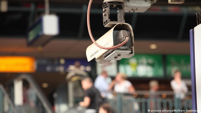 Videoüberwachung auf deutschen Bahnhöfen