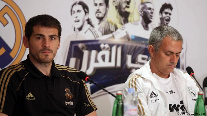 Real Madrid Fußball Jose Mourinho Iker Casillas
