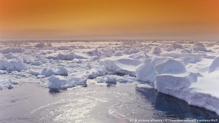 Abend im antarktischen Treibeis, Antarktis, Antarctica, North Victoria Land, Abend, evening, dusk, Treibeis, drift ice, Klima, climate