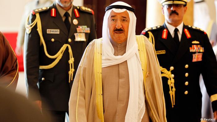 GCC in Bahrein Emir von Kuwait