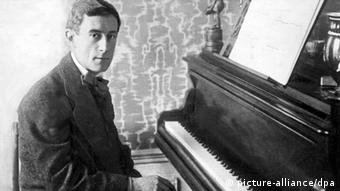 Komponist und Pianist Joseph Maurice Ravel