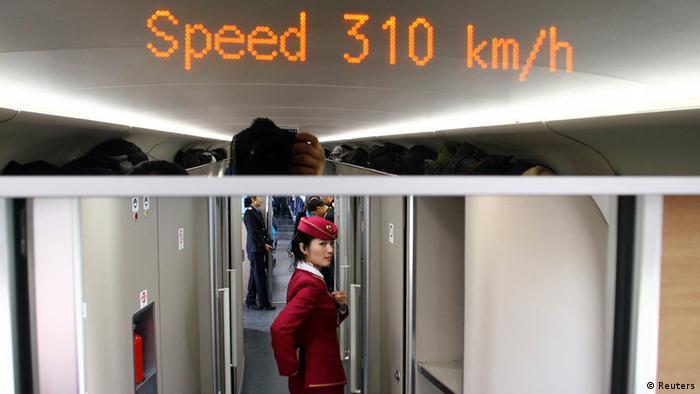 Bildgalerie Hochgeschwindigkeitszüge China (Reuters)