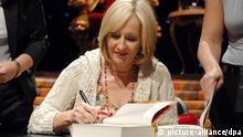 Die Autorin Joanne K. Rowling