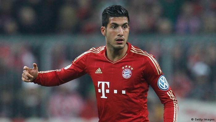 Emre Can, profesyonel kariyerine Bayern Münih'te başladı.