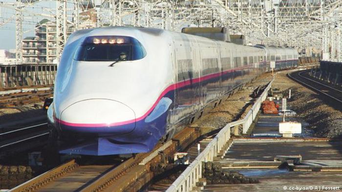 Bildergalerie Hochgeschwindigkeitszüge Japan Shinkansen-Baureihe E2