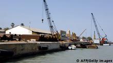 Senegal Ziguinchor Hafen