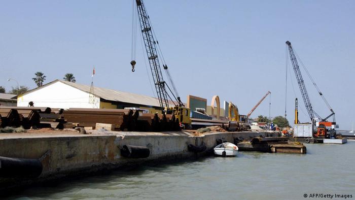 Le port de Zinguinchor, au sud du Sénégal