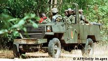 Senegal Senegalesische Soldaten