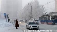 Russland Sibirien Rekordwinter