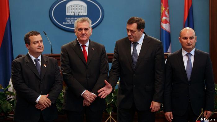 Nikolića u Trebinju nije dočekao niko od predstavnika vlasti RS ali ni crkveni velikodostojnici bliski vladajućim strukturama u RS ali i demokratama u Srbiji.