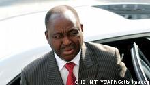 Präsident der Zentralafrikanischen Republik Francois Bozize