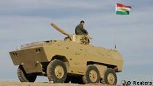 Kurdischer Soldat Kirkuk Irak