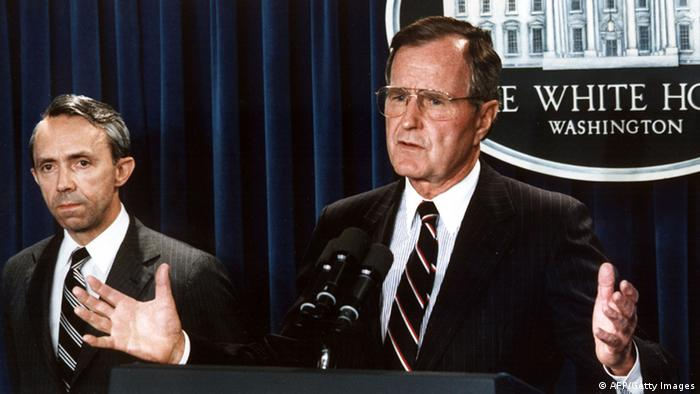 George Bush Senior (AFP/Getty Images)