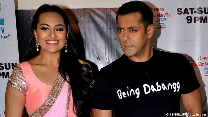 Indien Bollywood Salman Khan und Sonakshi Sinha