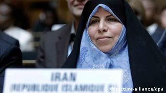 Iran Gesundheitsministerin Marzieh Vahid Dastjerdi (picture-alliance/dpa)