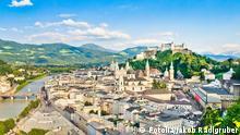 Österreich Salzburg Stadtansicht