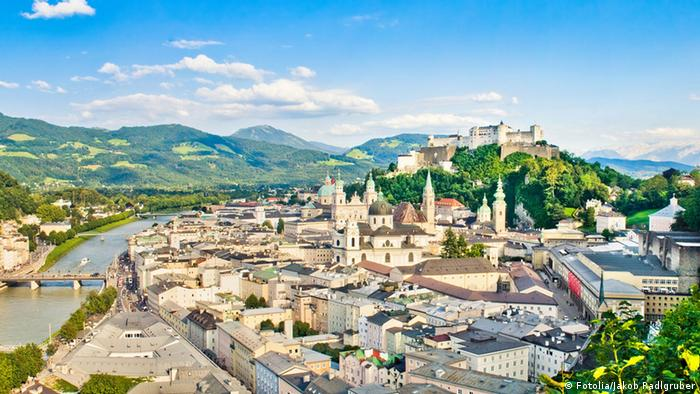Salzburg, Austria. (Copyright: Fotolia/Jakob)