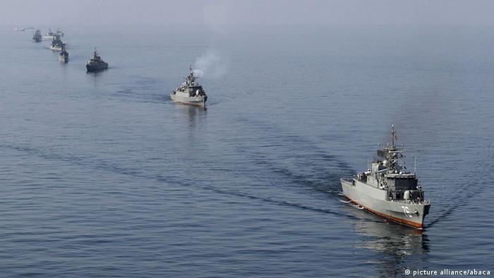 Корабли иранского ВМФ (фото из архива)