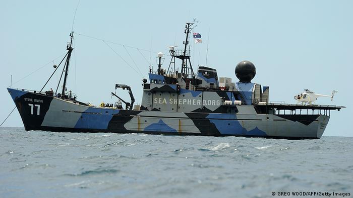 The Australian anti-whaling ship Steve Irwin