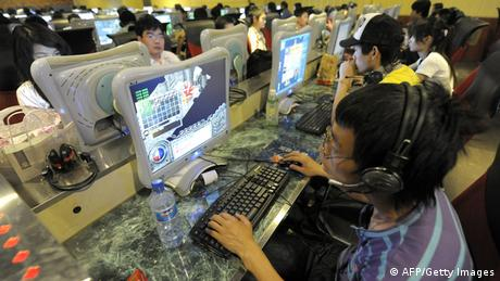 China Internetcafe in Peking