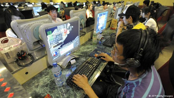 China Internetcafe in Peking (AFP/Getty Images)