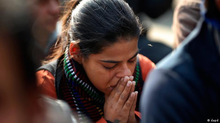 Indien junge Frau Vergewaltigung Opfer Gewalt Singapur (dapd)