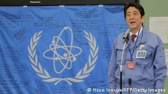 Japan Shinzo Abe besucht Fukushima