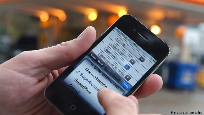 Smartphone App Benzin Preis Benzinpreis