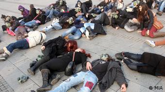 Mazedonien - Proteste in Skopje