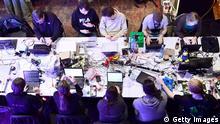Международный конгресс хакеров в Гамбурге