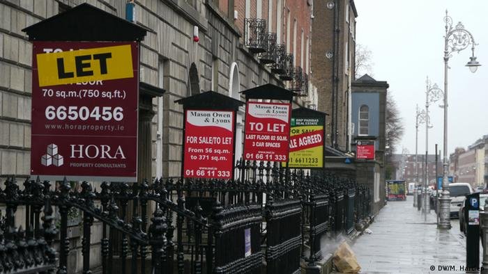 Anti Eviction Taskforce in Irland
