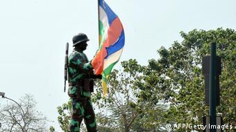 Zentralafrikanische Republik Soldat