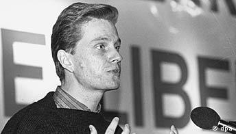 Guido Westerwelle bei den Jungen Liberalen 1984