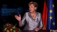 Merkel Neujahrsansprache SPERRFRIST