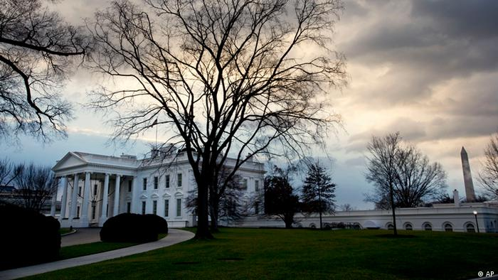 Clouds roil over the White House in Washington (Foto:Jacquelyn Martin/AP/dapd)