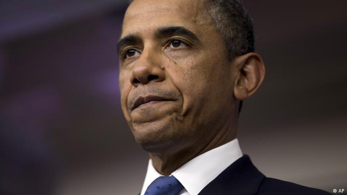Rais Barack Obama akitoa tamko juu ya mgogoro wa bajeti