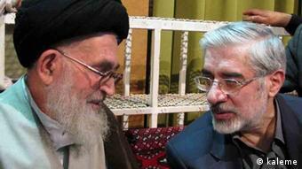 دیدار موسوی و دستغیب در جریان انتخابات سال ۱۳۸۸