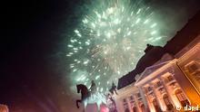Silvester 2012 Neujahr 2013 Bukarest Rumänien