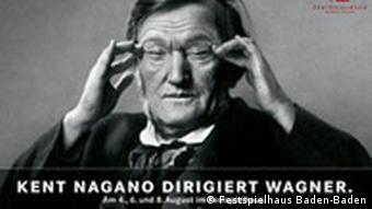 Plakat Kent Nagano dirigiert Wagner
