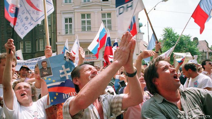 Symbolbild Trennung Tschechoslowakei