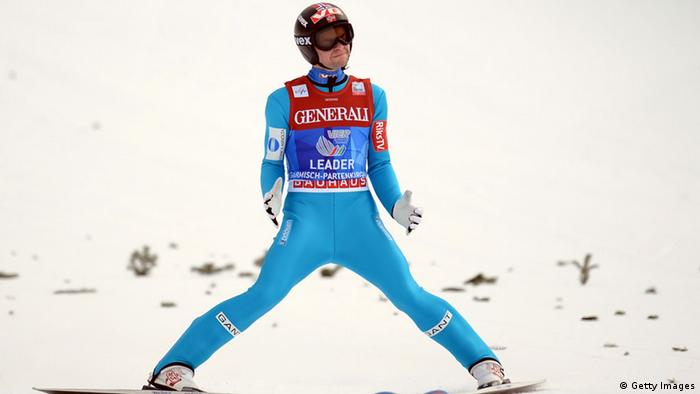 Anders Jacobsen bei der Vierschanzentournee 2012/13 in Garmisch (Foto: GettyImages)