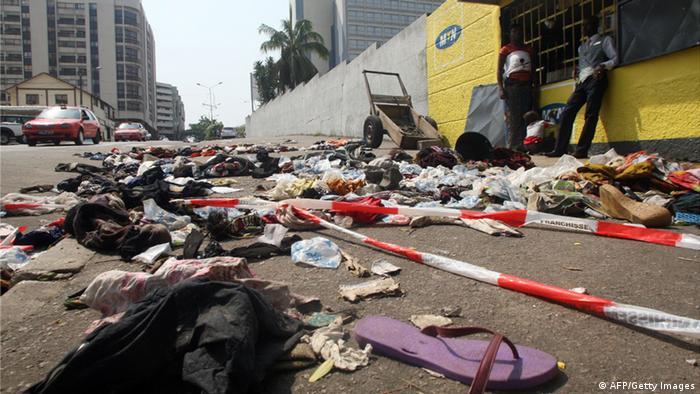 Mindestens 60 Tote bei Massenpanik in Elfenbeinküste