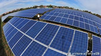 Solarpark in Erfurt