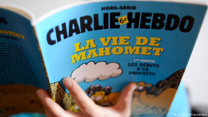 Charlie Hebdo Satiremagazin Sonderausgabe Mohammed-Karikaturen